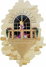 3DlightFX Disney Rapunzel Prinzessin 3D Wandlampe