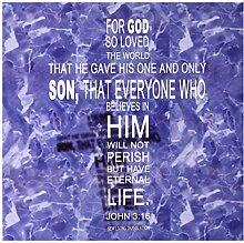 3dRose 777images John 316Bibel Vers in der