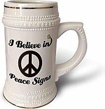 """3dRose Becher mit Aufschrift """"Believe In"""