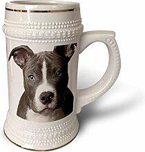 3dRose Becher mit Motiv American Pit Bull Terrier