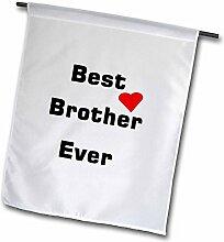 3dRose Best Brother Ever mit Herz