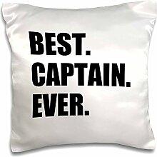 3dRose Best Captain Ever. für Schiff Boot Segeln