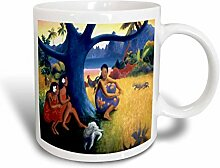 3dRose Bild der bunten Gauguin Polynesische