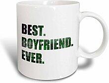 3dRose Boyfriend Ever, Grün mit