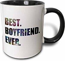 3dRose Boyfriend Ever. Mit Weltall-Sterne,