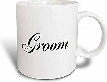 3dRose, Braut und Bräutigam Set-Couples