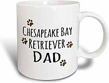 3dRose Chesapeake von Retriever Hund Dad