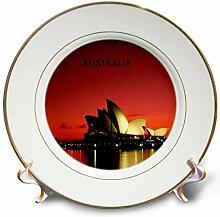 3dRose CP 60672_ 1Night Time Bild von Sydney