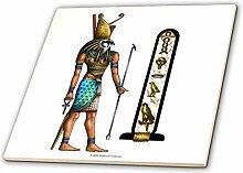 3dRose CT 167463_ 2Horus Ägyptischer Gott