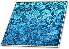 3dRose CT 32493_ 1Deko Vintage Floral Tapete
