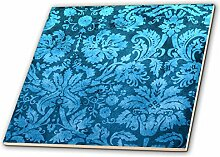 3dRose CT 32493_ 4Deko Vintage Floral Tapete