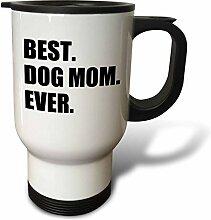 3dRose Dog Mom Ever, für Hundebesitzer, Geschenk