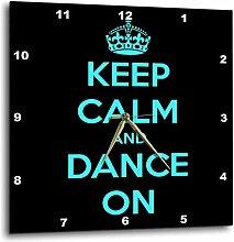 3dRose DPP 163926_ 3Keep Calm and Dance On,
