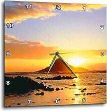 3dRose DPP 206806_ 2USA, Hawaii, Maui Sunrise