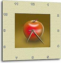 3dRose DPP 22341_ 2rot Delicious Apple Digital