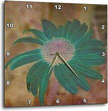 3dRose DPP 42736_ 3Blaugrün Echinacea Blumen