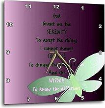 3dRose DPP 47246_ 3Serenity Prayer-
