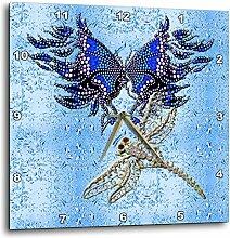 3dRose DPP 55916_ 2Perlen Schmetterling &