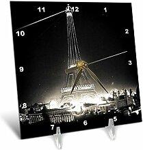 3dRose Eiffelturm beleuchtet Paris Exposition