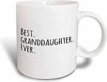 3dRose Enkelin Ever Geschenke für Grandaughters
