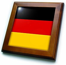 3dRose Fahne Deutschland-Deutsch Schwarz Rot Gelb