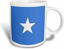 3dRose Fahne Flagge Somalia Somali-Blau mit