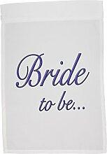 3drose FL _ 161145_ 1Bride to be violett Hochzeit Verlobungsring Garten Flagge, 12von 18