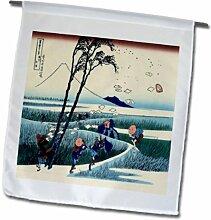 3dRose FL_163292_1 Bild Japanische Landschaft,