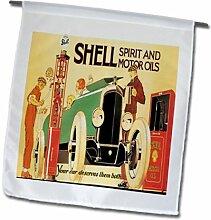 3dRose FL_163759_1 Bild Muschelöl für Autos