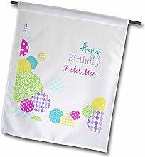 3dRose FL_165139_1 Happy Birthday Foster Mutter