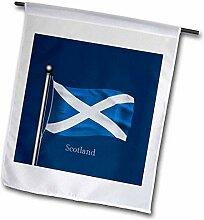 3dRose FL_165743_2 Gartenflagge Schottland auf