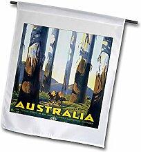 3dRose FL_171262_1 Australien Forest of Tallest
