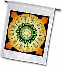 3dRose FL_174247_2 Sunny Baskets Frisbee Disc