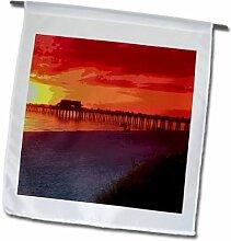 3dRose FL_174592_1 Bild Abstrakter Neapel Florida