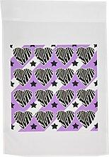 3drose FL _ 20382_ 1Punk Rockabilly Zebra Violett Weiß Schwarz Druck Garten Flagge, 12von 18