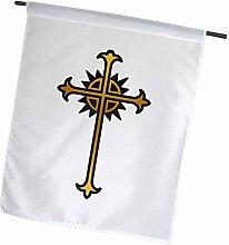 3dRose FL_211078_1 Flagge, religiöses Kreuz,