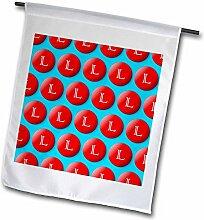 3dRose FL 240940_ 11Garten Flagge