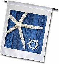 3dRose FL 240957_ 11Garten Flagge