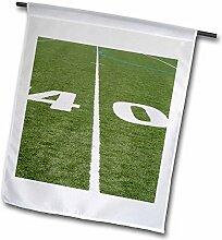 3dRose FL 244398_ 11Garten Flagge