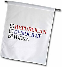 3dRose FL 253748_ 11Garten Flagge