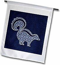 3dRose FL 264323_ 11Garten Flagge