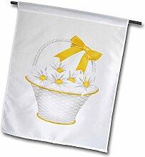 3dRose FL 267649_ 11Garten Flagge