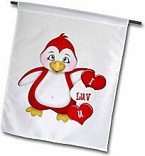3dRose FL 269307_ 11Garten Flagge