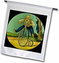 3dRose FL_269834_2 Vintage Deutsche Magische