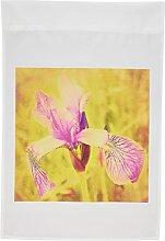 3dRose FL 28696_ 1rosa Vintage Iris Garden Flagge, 12von 18