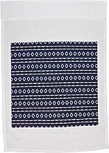 3drose FL _ 31296_ 1Blue Sky Tribal Geometric Abstraktes Muster Textil Garten Flagge, 12von 18