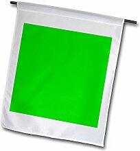 3dRose FL 3159_ 1grün ton, Garten Flagge, 12von 18