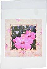 3drose FL _ 42624_ 1zartem rosa Rahmen Hibiscus Blumen Hawaiian Fotografie Garten Flagge, 12von 18