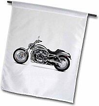 3dRose FL_ 4491_1 Harley Davidson Motorrad Bild