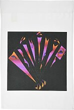 3drose FL _ 6878_ 1orange violett Fan Garten Flagge, 12von 18